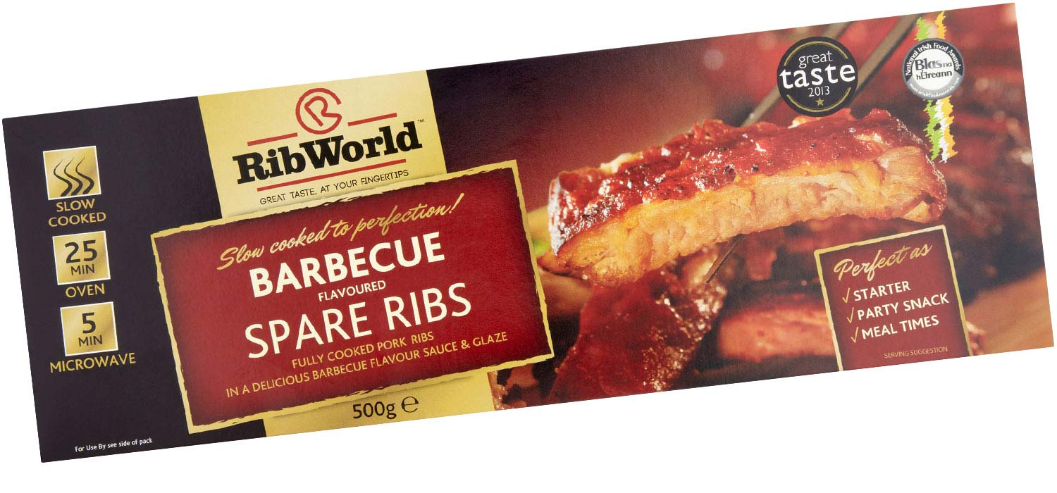 Barbecue Flavoured Spare Ribs