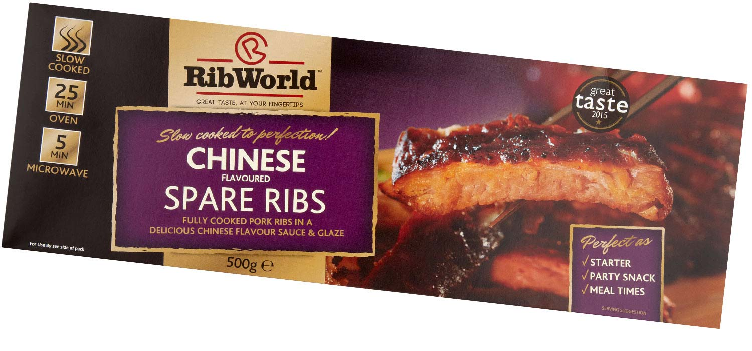 Chinese Flavoured Spare Ribs